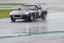 The Classic, Silverstone 202112 Tony Best / Ed Thurston - Jaguar E-type Semi-Lightweight At the Home of British Motorsport.30th July – 1st AugustFree for editorial use only