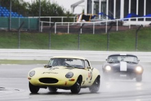 The Classic, Silverstone 202117 Robert Gate / Robert Farrell - Jaguar E-type At the Home of British Motorsport.30th July – 1st AugustFree for editorial use only