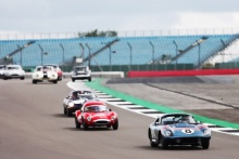 The Classic, Silverstone 2021 8 Olivier Tancogne / Olivier Tancogne - AC Cobra Daytona At the Home of British Motorsport. 30th July – 1st August Free for editorial use only
