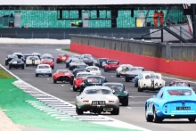 The Classic, Silverstone 2021 89 Mike Wrigley / Matthew Wrigley - Jaguar E-Type At the Home of British Motorsport. 30th July – 1st August Free for editorial use only