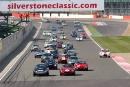Start of the Tourist Trophy, Graham/Attwood Aston Martin DB4 GT Lightweight leads