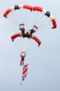Parachute Regiment display