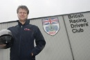 Andrew Castle at the Silverstone Classic Celebrity Challenge test day