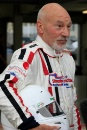 Sir Patrick Stewart at the Silverstone Classic Celebrity Challenge test day