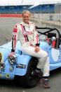 Chemmy Alcott (GBR) Morgan Silverstone Classic Celebrity Race