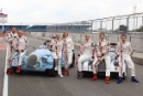 The celebrities for the Morgan Silverstone Classic Celebrity Race