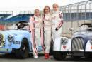 Nicola Stapleton, Vicky Gomersall and Chemmy Alcott, Morgan Silverstone Classic Celebrity Race