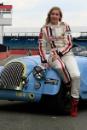 Vicky Gomersall (GBR) Morgan Silverstone Classic Celebrity Race