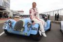 Nicola Stapleton (GBR) Morgan Silverstone Classic Celebrity Race