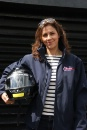 Julia Bradbury, Silverstone Classic Morgan Celebrity Race