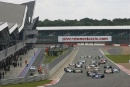 Start of Race 1 Michael Lyons leads