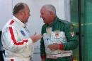 Roger Wills Lotus 16 and Eddie McGuire Lotus 16