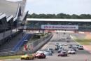 Start, Jackie Oliver/Gary Pearson Ferrari 250 SWB leads