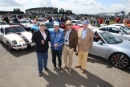 David Piper, Richard Attwood, Derek Bell and John Fitzpatrick at the Porsche 911 celebration