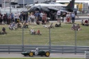 Parade of Grand Prix Cars