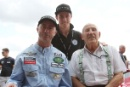 David Brabham, Sam Brabham and Stirling Moss  Parade of Grand Prix Cars