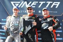 Nathan Heathcote Century Motorsport Ginetta G55 Colin White CWS 4x4 Spares Ginetta G55Darron Lewis Team Hard Ginetta G55
