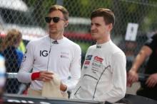 Simon Rudd Rob Boston Racing Ginetta G55