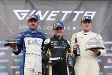Will Burns Rob Boston Racing Ginetta G55Harry King Elite Motorsport Ginetta G55Carlito Miracco Ginetta G55