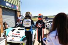 Adam Smalley - Elite Motorsport Ginetta G55 Josh Rattican - Elite Motorsport Ginetta G55