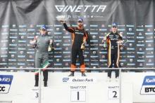 Carlito Miracco - Preptech UK Ginetta G55 Tom Hibbert - Rob Boston Racing Ginetta G55 Josh Rattican - Elite Motorsport Ginetta G55