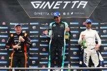 Nick Halstead - FOx MotorsportColin White - CWS Motorsport Ginetta G55 Luke Warr - RCC Ginetta G55