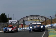 #80 Ebimotors Porsche 911 RSR: Fabio Babini, Christina Nielsen, Erik Maris