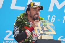 #8 Toyota Gazoo Racing Toyota TS050: a, Fernando Alonso