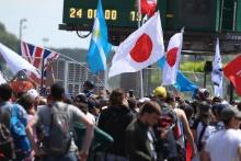 Fans at Le Mans