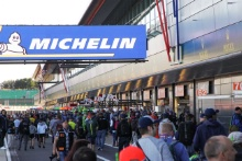 Fans on the WEC Pitwalk at Silverstone
