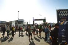 Fans in the Silverstone paddock