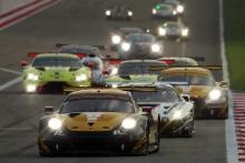 #57 Team Project 1 Porsche 911 RSR:  Ben Keating, Larry ten Voorde, Jeroen Bleekemolen