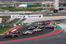 Start of the Lone Star Le Mans race