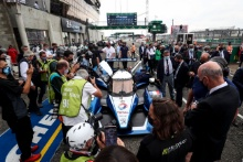 Peugeot 908 on the grid