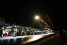 Le Mans pit lane