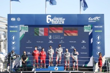 #51 AF Corse Ferrari 488 GTE EVO: Alessandro Pier Guidi, James Calado #92 Porsche GT Team Porsche 911 RSR - 19: Kevin Estre, Neel Jani,  #91 Porsche GT Team Porsche 911 RSR - 19: Gianmaria Bruni, Richard Lietz,