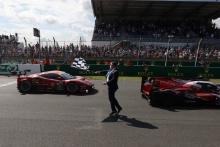 #51 AF Corse Ferrari 488 GTE EVO LMGTE Pro of Alessandro Pier Guidi, James Calado, Come Ledogar