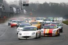 James Kellett (GBR) Ginetta GT5  and Shane Stoney Ginetta GT5