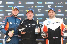 Podium James Townsend Wesley Pearce Dale Albutt