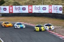 Race Action Adam Smalley / Elite Motorsport Ginetta GT5 Gordie Mutch / Fox Motorsport Ginetta GT5 Scott Mckenna / Xentek Motorsport Ginetta GT5