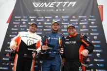 Podium Race1 Am Dale Albutt / Quattro Motorsport Ginetta GT5 James Townsend / Fox Motorsport Ginetta GT5 Phil McGarty / GBR Ginetta GT5