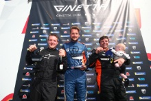 Podium Race 3 Wesley Pearce / Elite Motorsport Ginetta GT5  James Townsend / Fox Motorsport Ginetta GT5 Phil McGarty / GBR Ginetta GT5