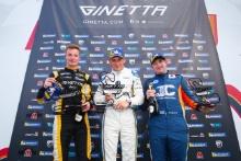 Podium Race 3 Adam Smalley / Elite Motorsport Ginetta GT5 Scott Mckenna / Xentek Motorsport Ginetta GT5 Gordie Mutch / Fox Motorsport Ginetta GT5