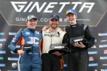 Gordie Mutch / Fox Motorsport / Ginetta GT5Geri Nicosia / Quattro Motorsport / Ginetta GT5 Josh Malin Ginetta GT5