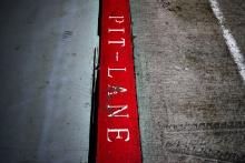 Silverstone pit lane