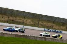 Start of Race 2 Ben Colburn (GBR) Westbourne Motorsport Renault Clio Cup leads