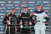 Stephen Docker Ginetta G40 GRDC, James Crawshaw and Chris Salkeld Ginetta G40 GRDC