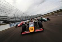 Seb Priaulx (GGY) Arden British F4, Jack Doohan (AUS) Arden British F4, Kiern Jewiss (GBR) Double R British F4