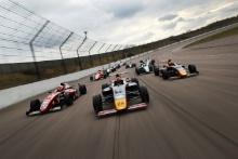 Jamie Sharp (GBR) Sharp motorsport British F4, Dennis Hauger (NOR) Arden British F4, Jack Doohan (AUS) Arden British F4