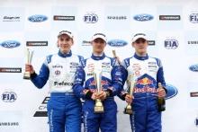 Paavo Tonteri (FIN) Double R British F4, Dennis Hauger (NOR) Arden British F4, Jack Doohan (AUS) Arden British F4